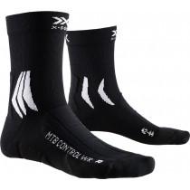 X-Socks mtb control wr fietssokken zwart wit