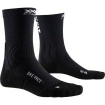X-Socks bike race fietssokken opal zwart eat dust