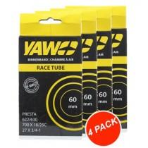 """YAW Binnenband Race 28"""" 60 mm (4 Pack)"""