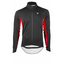VERMARC Event Rain & Cold Jersey LS Black Red