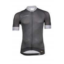 Vermarc Zigzag Shirt Korte Mouwen Pr.R Zwart/ Grijs