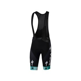 Sportful Bora Hansgrohe bodyfit pro classic korte fietsbroek met bretels zwart
