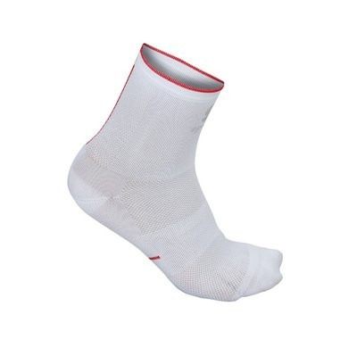 SPORTFUL R&D 9 Sock White Fire Red
