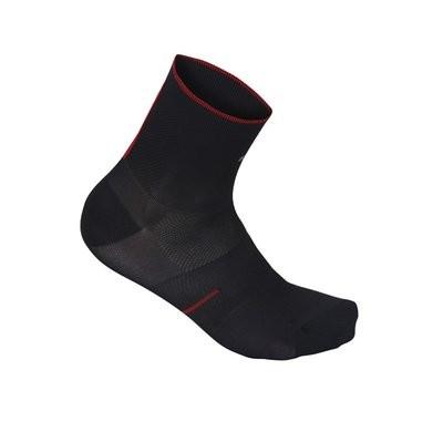SPORTFUL R&D 9 Sock Black Fire Red