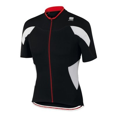 SPORTFUL Crank Jersey SS Black White