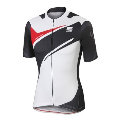 SPORTFUL Spark Jersey SS White Black Anthra Red