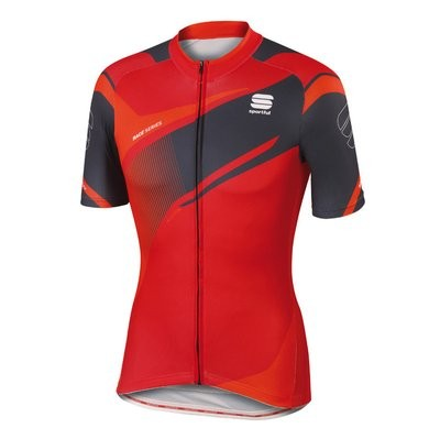 SPORTFUL Spark Jersey SS Red Anthra Fire Red