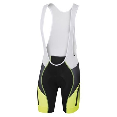 SPORTFUL Spark Bibshort Black Yellow Fluo Anthra