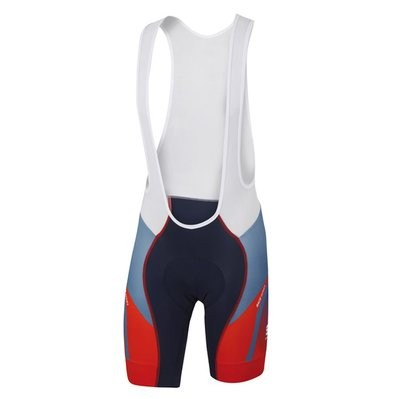 SPORTFUL Spark Bibshort Baltic Blue Fire Red