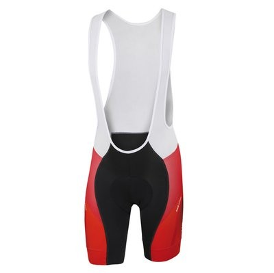 SPORTFUL Spark Bibshort Black Red Anthra