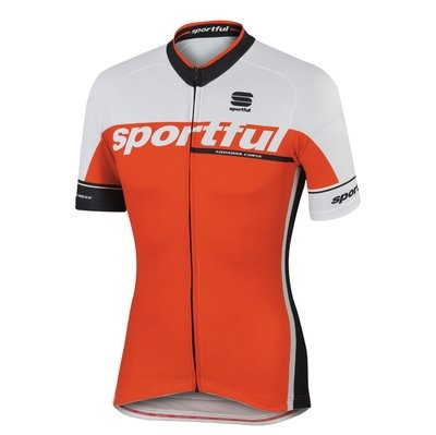 SPORTFUL SC Team Jersey SS Fire Red White