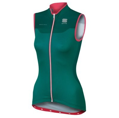 SPORTFUL Bodyfit Pro Lady Sleeveless Jersey Green Pink Coral