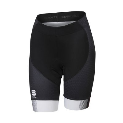 SPORTFUL Gruppetto Pro Lady Short Black Anthra Pink Coral