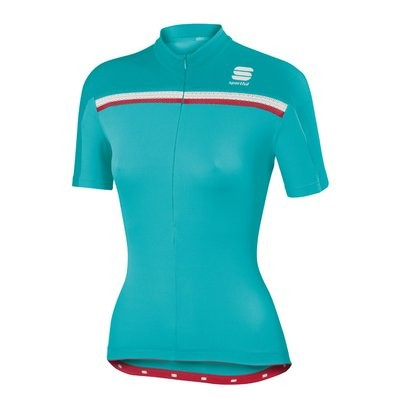 SPORTFUL Allure Lady Jersey SS Turquoise