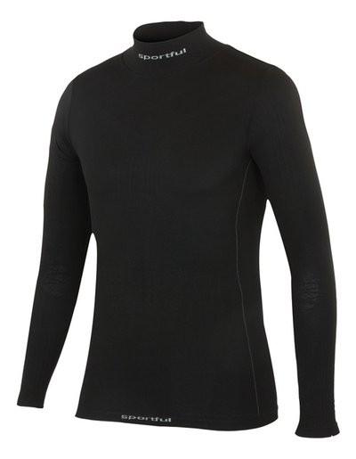 SPORTFUL 2nd Skin Deluxe T Shirt Junior LM Black