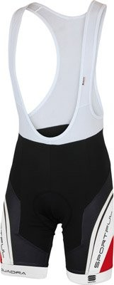 SPORTFUL Equipe Bibshort Black Red