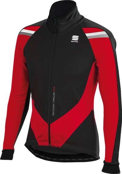 SPORTFUL Alpe Softshell Jacket Black Red