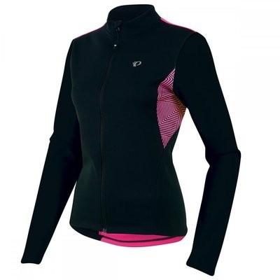 PEARL IZUMI Sugar Thermal Lady Jersey LS Black Pink