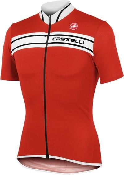 CASTELLI Prologo 3 Jersey SS Red White