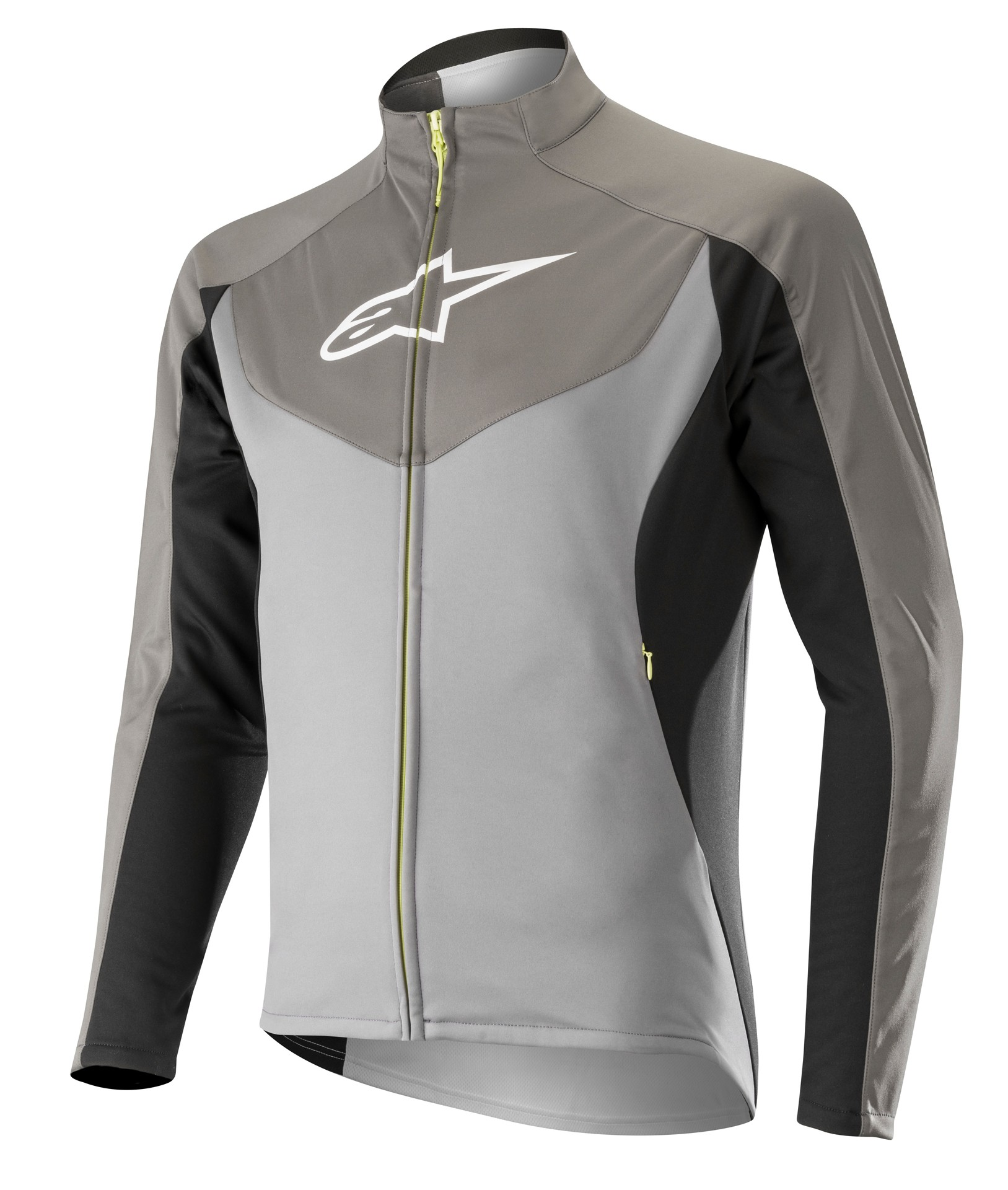 Alpinestars mid layer veste de cyclisme steel gris dark shadow