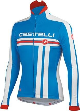 CASTELLI Free Jacket Ocean White