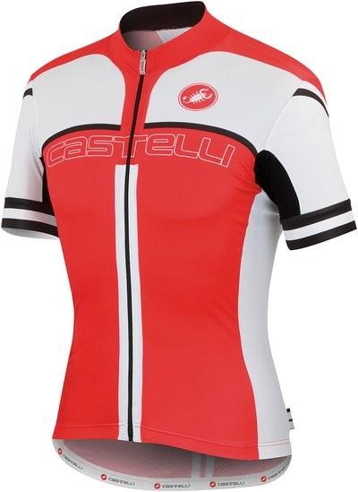 CASTELLI Free AR 4.0 Jersey SS Red White Black