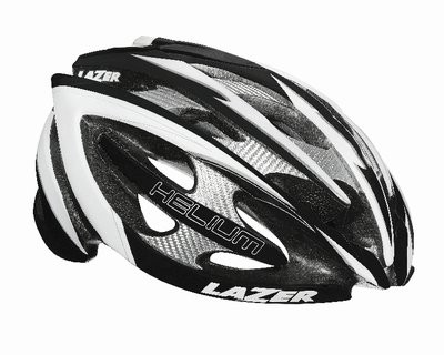LAZER Helm Helium Black White + Aeroshell