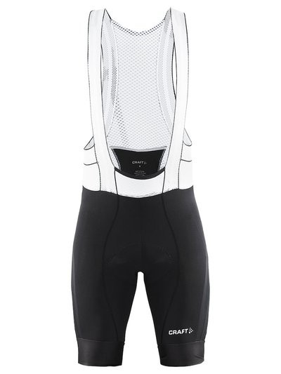 CRAFT Tech Bibshort Black White
