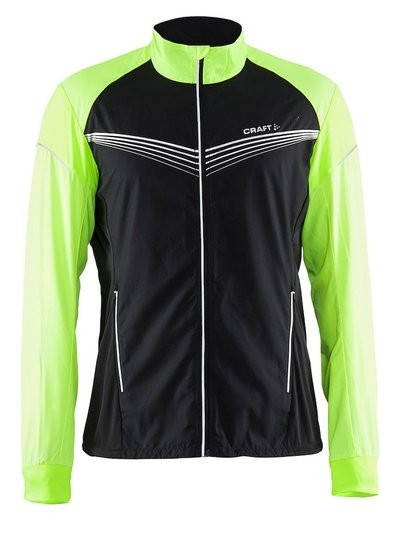 CRAFT Brilliant Light Running Jacket Black Gecko