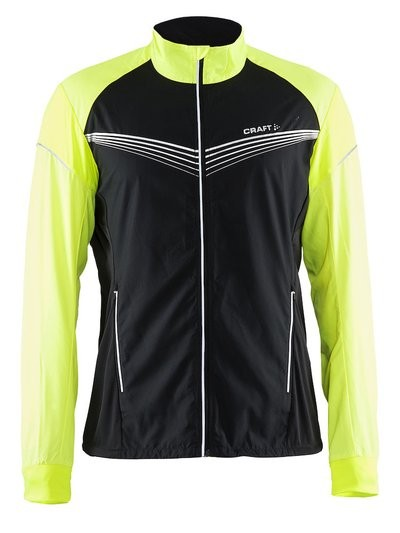 CRAFT Brilliant Light Running Jacket Black Flumino