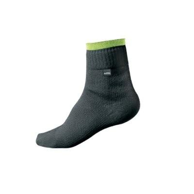 Sealskinz Hi-Vis Bike Sock Black