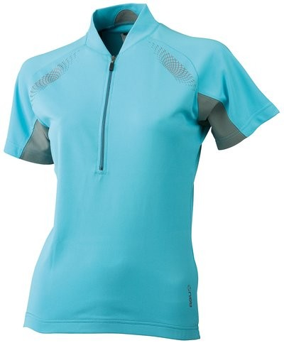 AGU Aroya Lady Shirt KM Aqua