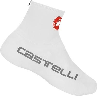 CASTELLI Lycra Shoecover White