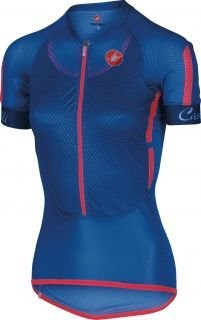 CASTELLI Climbers Lady Jersey SS Surf Blue