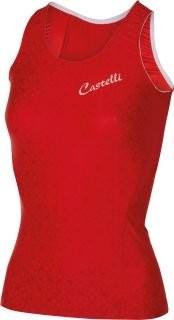 CASTELLI Bellissima Cristallo Lady Top Red