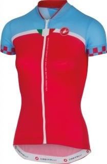 CASTELLI Duello Lady Jersey SS Red