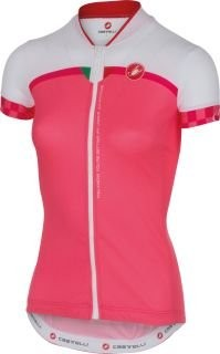 CASTELLI Duello Lady Jersey SS Pink