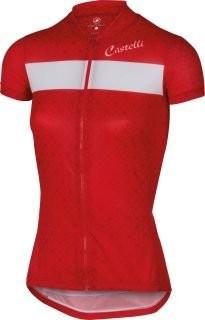 CASTELLI Sentimento Lady Jersey SS Red