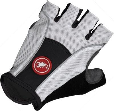 CASTELLI Pro Glove White Black