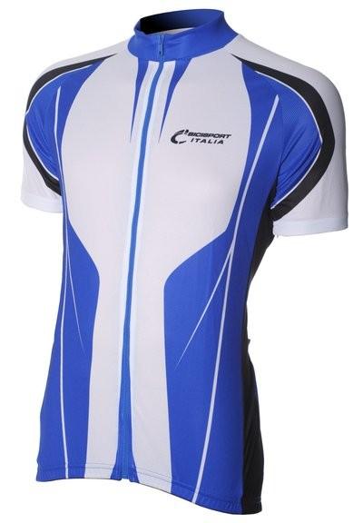 Bici Shirt KM White/Royal v4