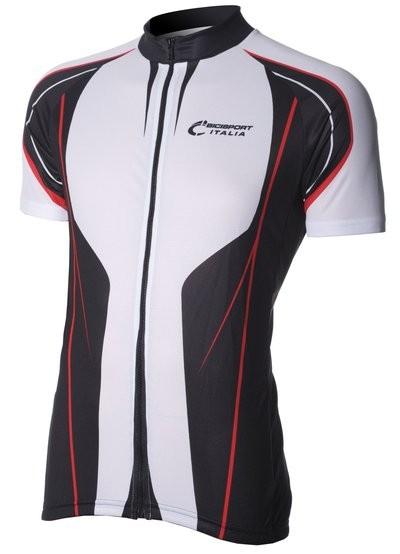 Bici Shirt KM White/Black/Red V7