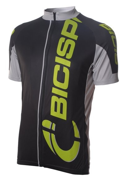 Bici Shirt KM Elite Black Fluo