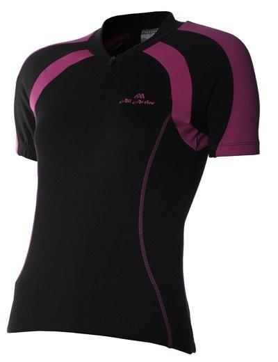 Clara Lady Shirt Fuxia/Black