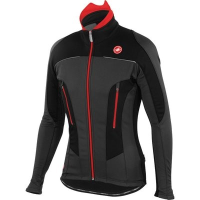 CASTELLI Mortirolo Due Jacket Anthra Black