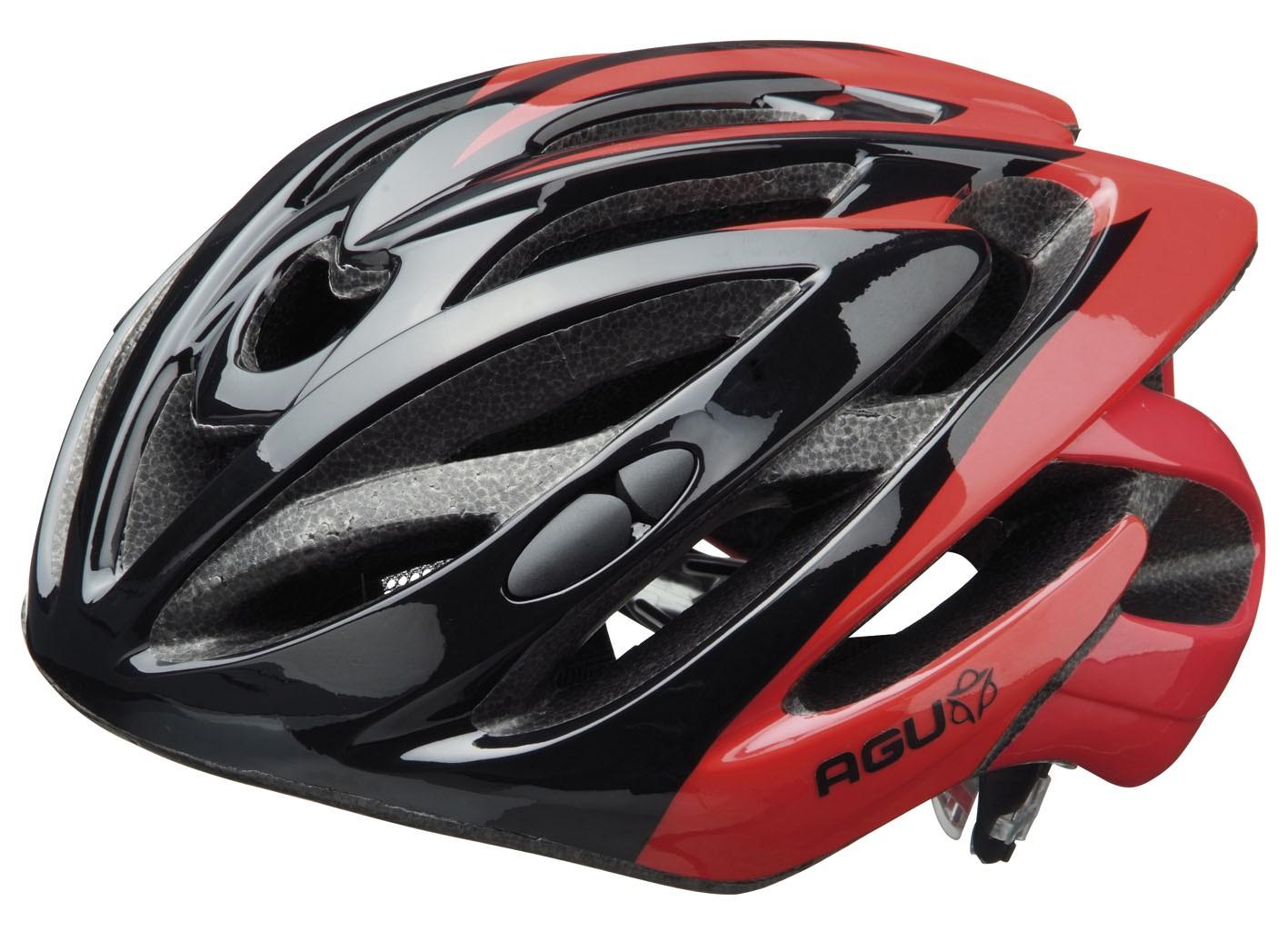 AGU Coreno Helm Red-black