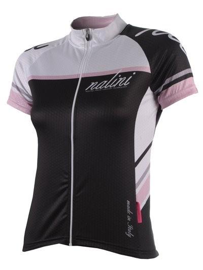 NALINI Cycle TI Lady SS Jersey Black White