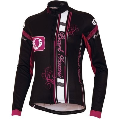 PEARL IZUMI Elite Thermal LTD Lady Jersey LS Big Ip Black