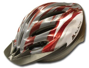 Casque mod 015 red/white