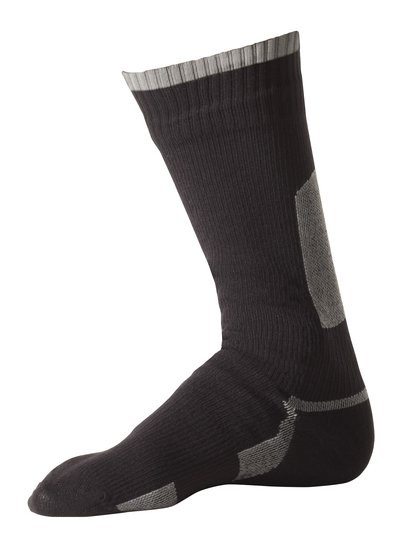 Sealskinz Thin Mid Calf Length Sock Black