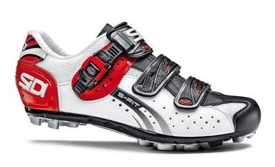 SIDI Eagle 5-Fit White Black Red MTB Fietsschoen